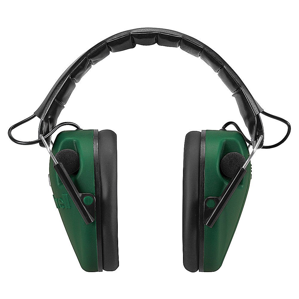 Low Profile E-Max Electronic Ear Muffs Green, USA, Brand ...