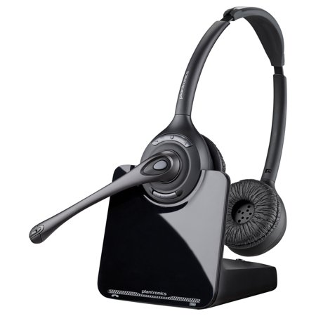 Plantronics CS520 Binaural Wireless Headset System Plantronics Supraplus Binaural Headset