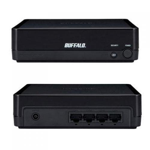 AirStation N300 4-Port Dual Band Wireless Ethernet Bridge