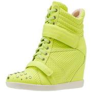 Boutique 9 Women's Nevan Fashion Sneakers Heels, Yellow
