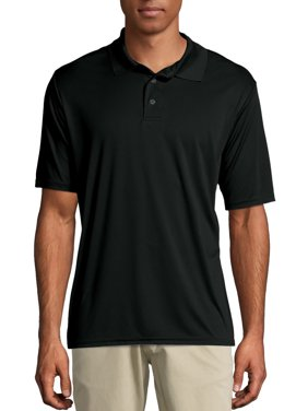 Hanes Sport Men's and Big Men's Cool Dri Performance Polo (50+ UPF), Up to Size 3XL