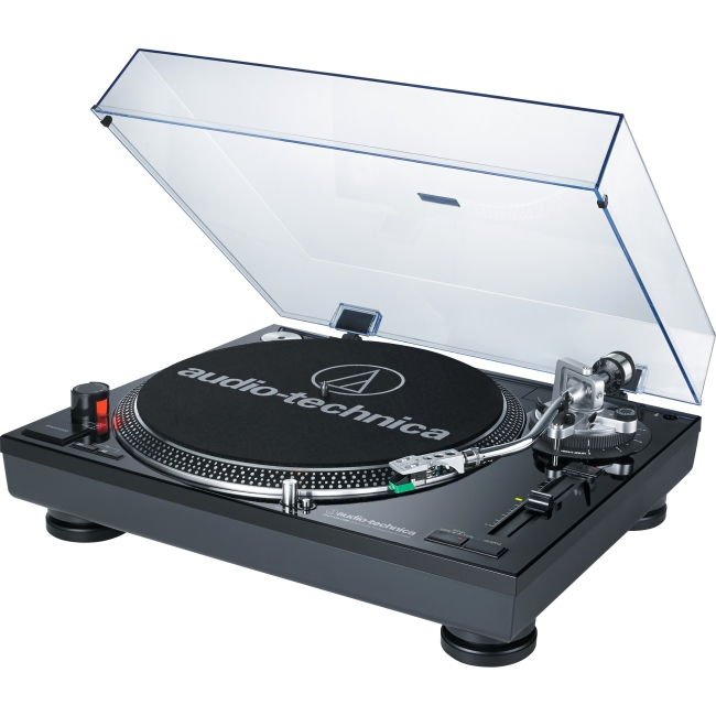 Audio-Technica Direct-Drive Professional Turntable (USB & Analog) AT-LP120BK-USB by AudioTechnica