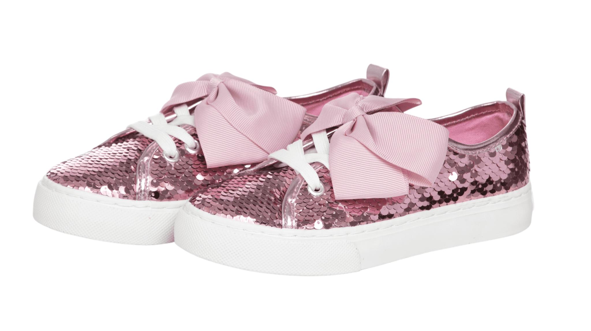 Little Girl//Big Girl Size JoJo Siwa Girls Reversible Sequins High Top Sneakers
