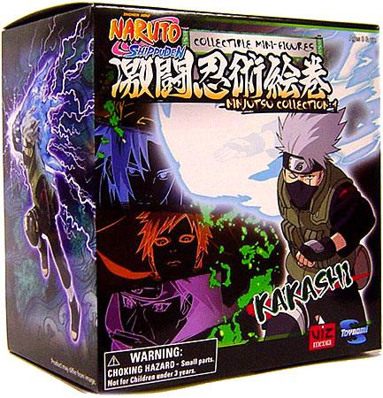 Naruto Ninjutsu Collection 4-Inch Series 1 Kakashi Action Figure