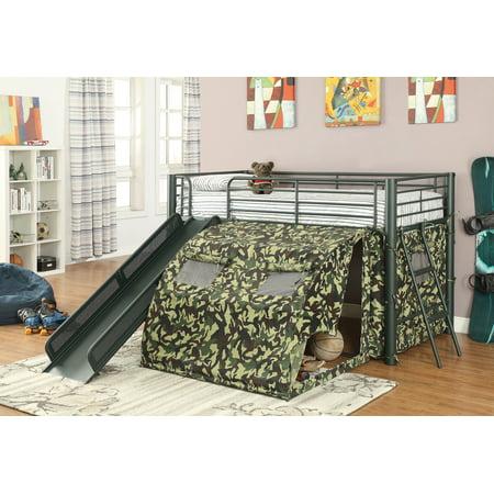 Simple Relax Oates Fun Youth Boys Kids Bedroom Loft Bed