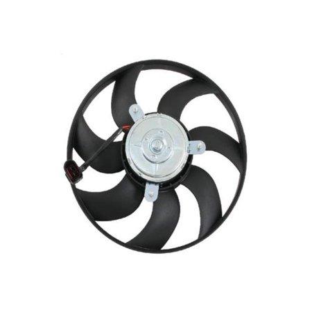 Jaguar Auxiliary Fan (Audi VW Engine Cooling Fan Motor Auxiliary Fan Right Brand New OEM VDO )