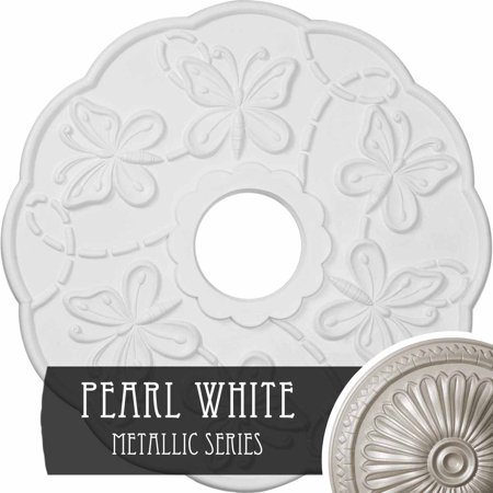 17 7 8 OD x 3 7 8 ID x 1 P Terrones Butterfly Ceiling Medallion Fits