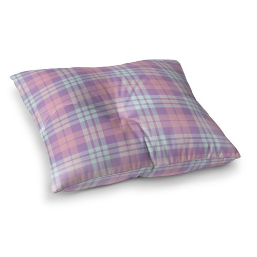 Harriet Bee Abingdon Plaid Indoor/Outdoor Floor Pillow