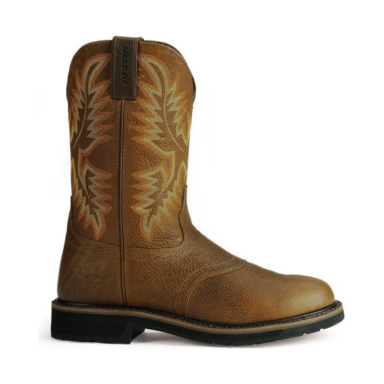 Justin Boots Justin Boot Company Mens Stampede Sunset Cowhide Soft Toe Work Boots
