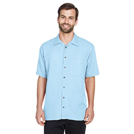 Cabana Banana Collection - UltraClub Men's Cabana Breeze Camp Shirt