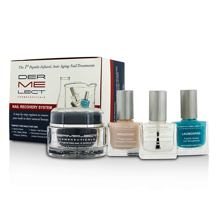 Dermelect - Nail Recovery System Set - 4pcs