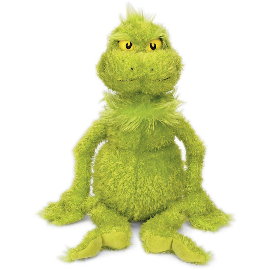 """Click here to buy Manhattan Toy Dr. Seuss The Grinch 15"""" Soft Plush Toy by Manhattan Toy."""