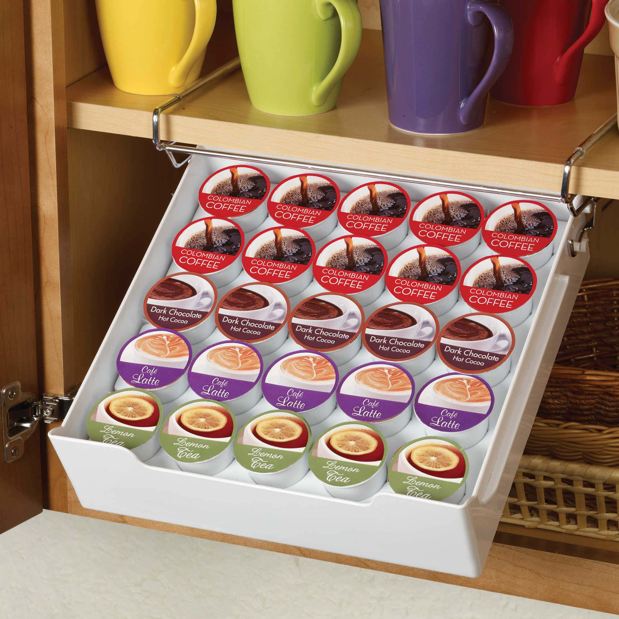 Kamenstein KAMKCUP Xtra In Cupboard Drawer 25 Pod Coffee Pod