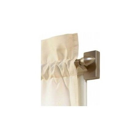 Levolor Kirsch W7004213102 Adjustable Magnetic Cafe Rod