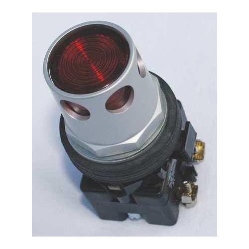 EATON HT8GDRF1Q1F7 Illum Push Button, 30mm, 2NO/2NC, Red