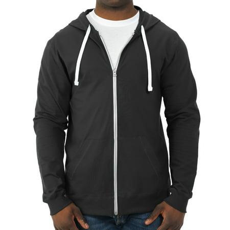 Fruit of the Loom Big Men's 100% Sofspun Cotton Jersey Full Zip Hood ()