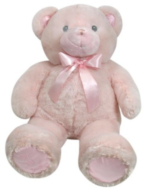 Stephan Baby Ultra Soft and Huggable Plush My First Teddy Bear, Pink by Stephan Baby