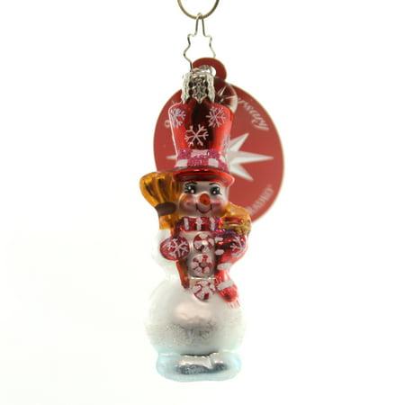 Christopher Radko PEPPERMINT PALS GEM Blown Glass Ornament (Radko Gem)