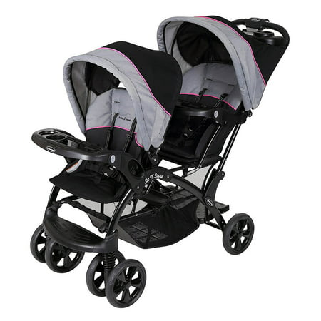 Baby Trend Sit N Stand Double Stroller, Millennium (Best Stroller For Older Kids)