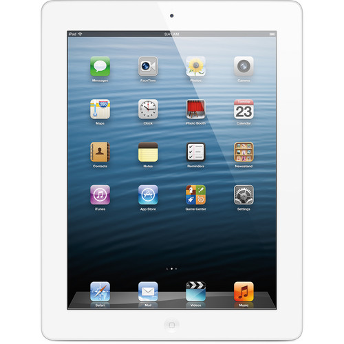 Refurbished Apple iPad 4th Gen 16GB White Wi-Fi MD911LL/A