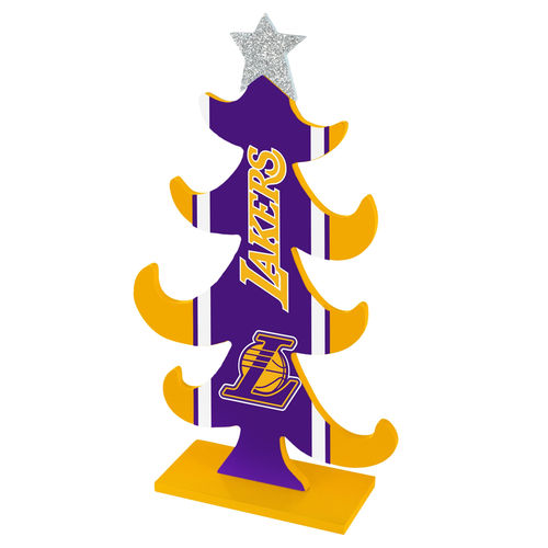 Los Angeles Lakers Wooden Tree