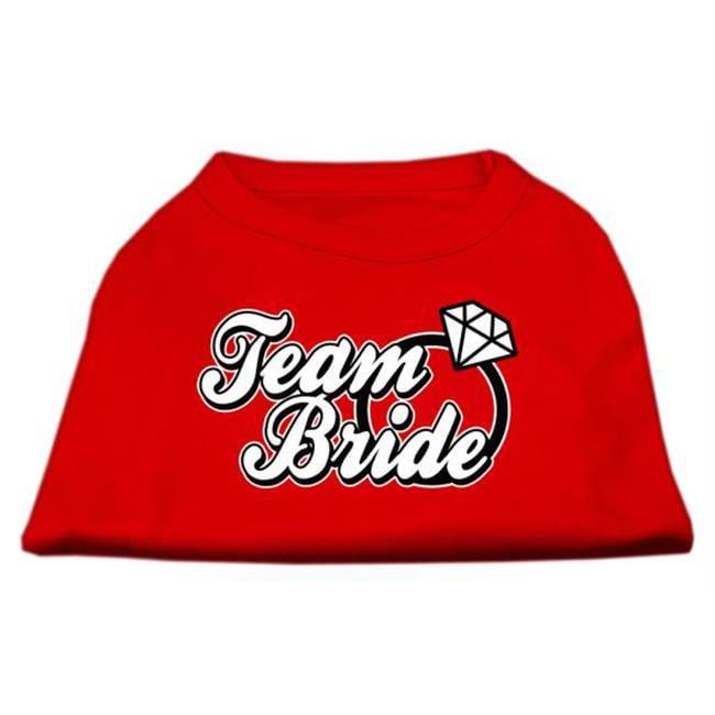 Mirage Pet Products 51-77 XXLRD Team Bride Screen Print Shirt Red XXL - 18 - image 1 of 1