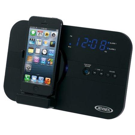 Jensen Jils 525I Desktop Clock Radio   Apple Dock Interface   Proprietary Interface
