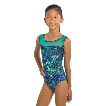Girls Gymnastics Leotard Aztec Mesh by Lizatards Adult Small