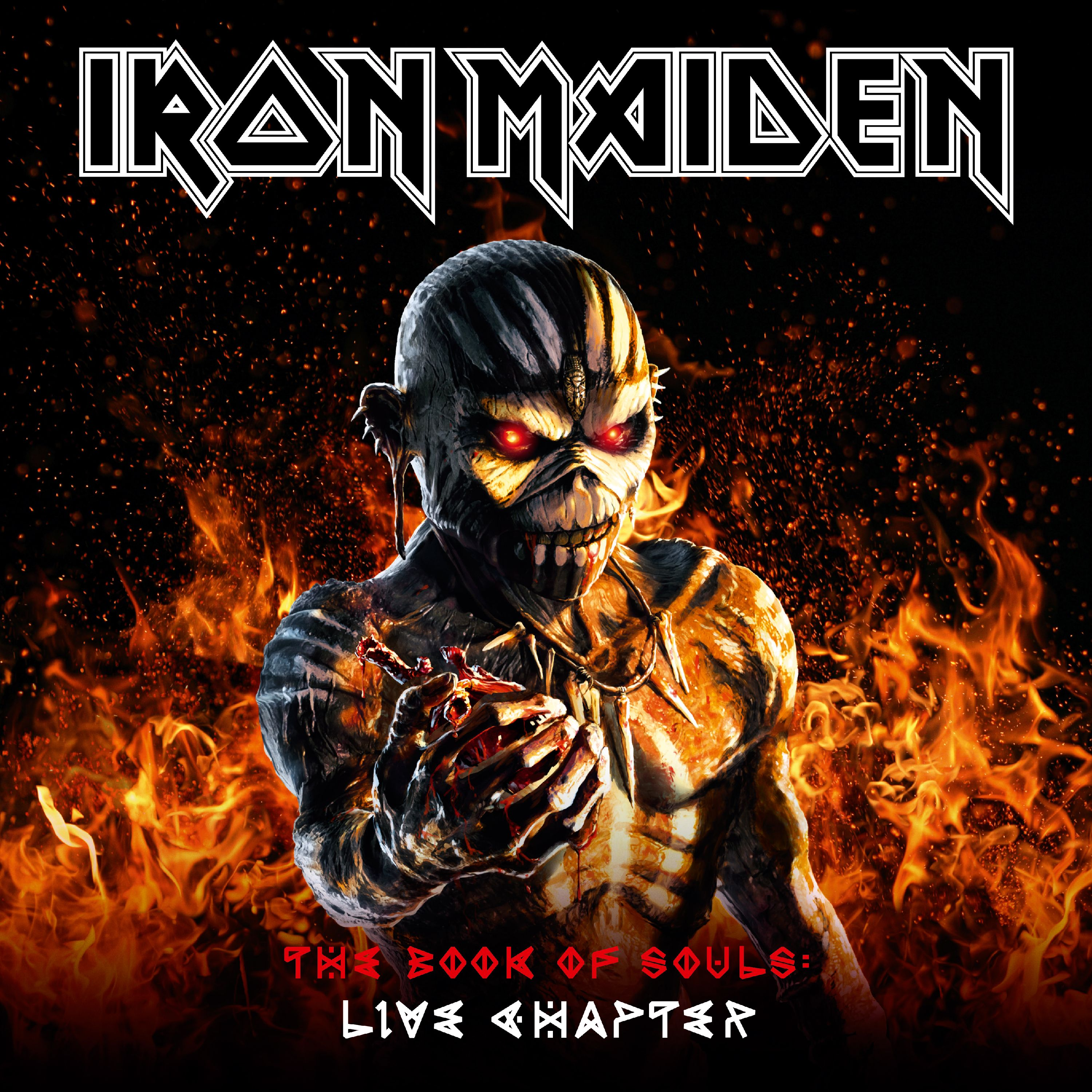 Iron Maiden The Book Of Souls The Live Chapter 16 17 Limited