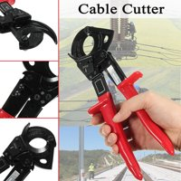 1Pc Ratchet Type Cable Cutter Ratcheting Wire Cut Up To 240mm² Hand Tool