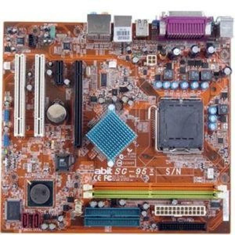 Abit SG-95 MicroATX Motherboard with SiS 662NB/966LSB (LG...