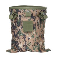 Multifunctional Tactic Dump Drop Storage Pouch Roll-Up Recycling Bags Hanging Belt Paintball Hunt Bag