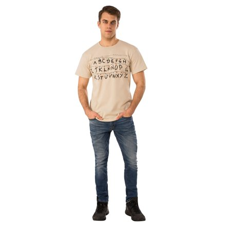 Halloween Stranger Things Alphabet Shirt - Costumes For Thing 1 And Thing 2