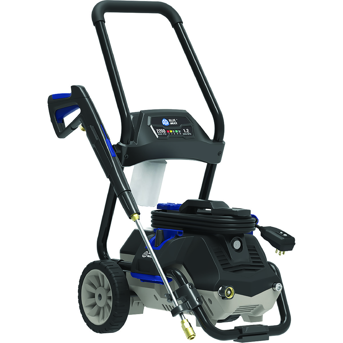 AR Blue Clean 2200 PSI, Induction Electric Pressure Washer, MAXX2200