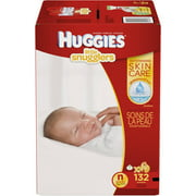 HUGGIES Little Snugglers Baby Diapers, Giant Pack, (Choose Your Size)