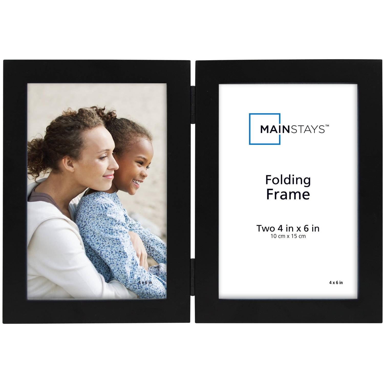 mainstays folding picture frame black walmartcom