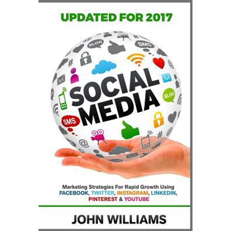 Social Media  Marketing Strategies For Rapid Growth Using  Facebook  Twitter  Instagram  Linkedin  Pinterest And Youtube