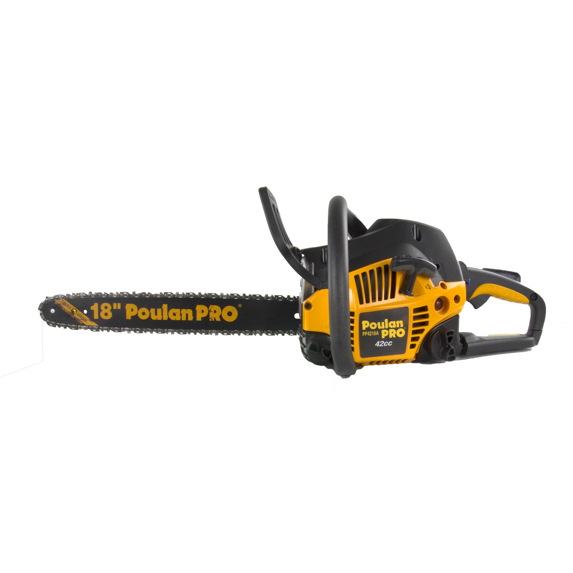 Poulan Pro PP4218A 18 Inch 42CC 2 Cycle Gas Chainsaw (Certified Refurbished) by Poulan Pro