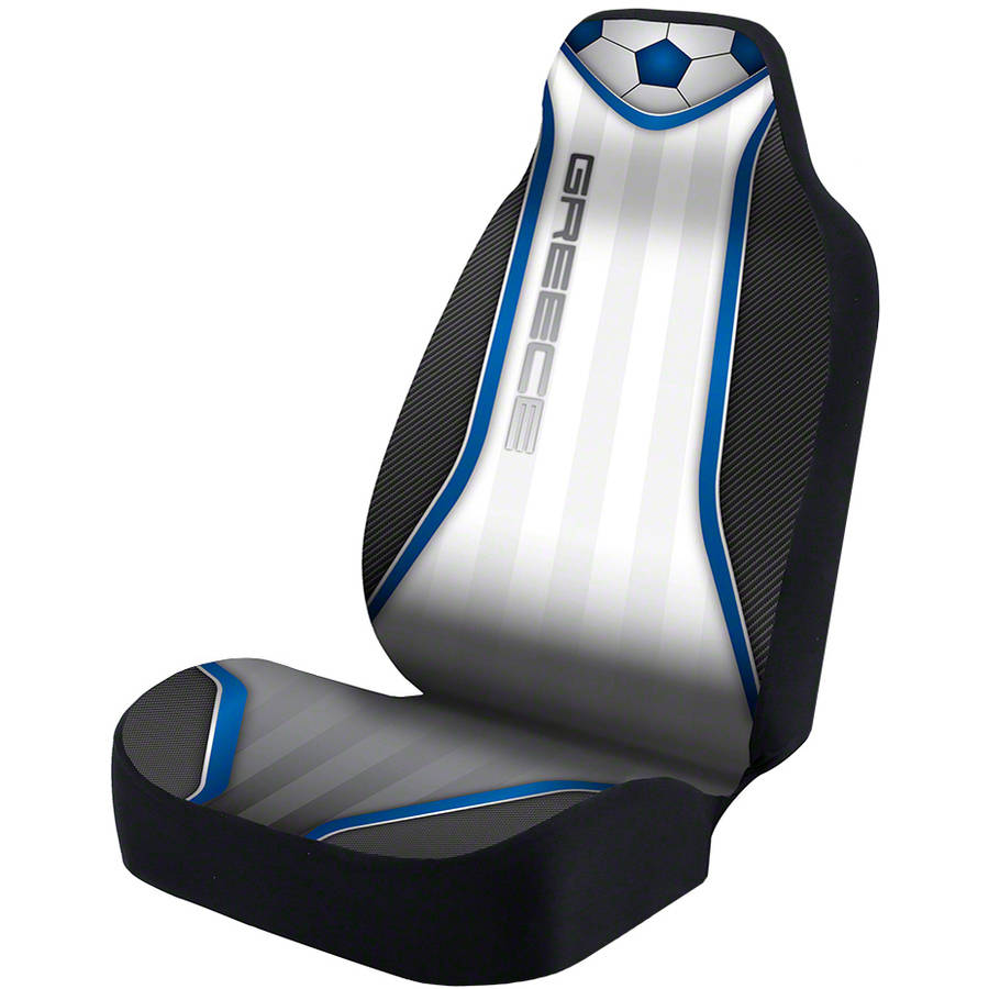 Coverking Universal Seat Cover Designer Ultra Suede, World Cup Greece