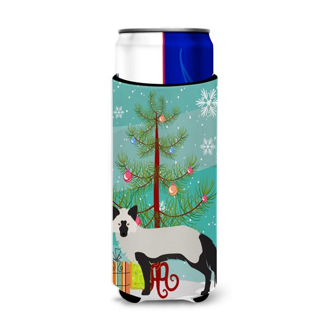 Carolines Treasures BB9238MUK Silver Fox Christmas Michelob Ultra Hugger for Slim Cans - image 1 of 1