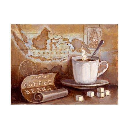 Finest Art - Finest Coffee Beans Print Wall Art By Theresa Kasun