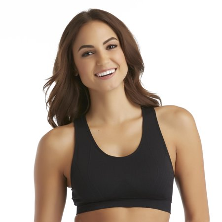 Everlast Nylon and Spandex  Racerback Performance Sport Bra