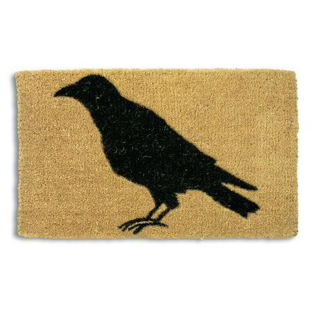 Tag Black Crow Coir Door Mat -