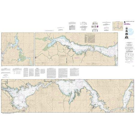 Lake Mead Chart (NOAA Chart 18687: Lake Mead 41.2 x 59.1)