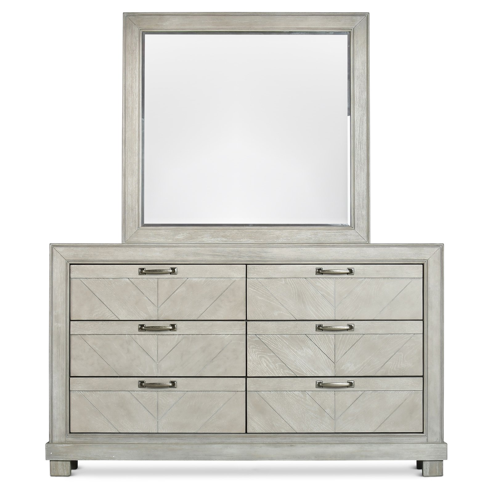 Steve Silver Co. Montana 6 Drawer Dresser with Optional Mirror