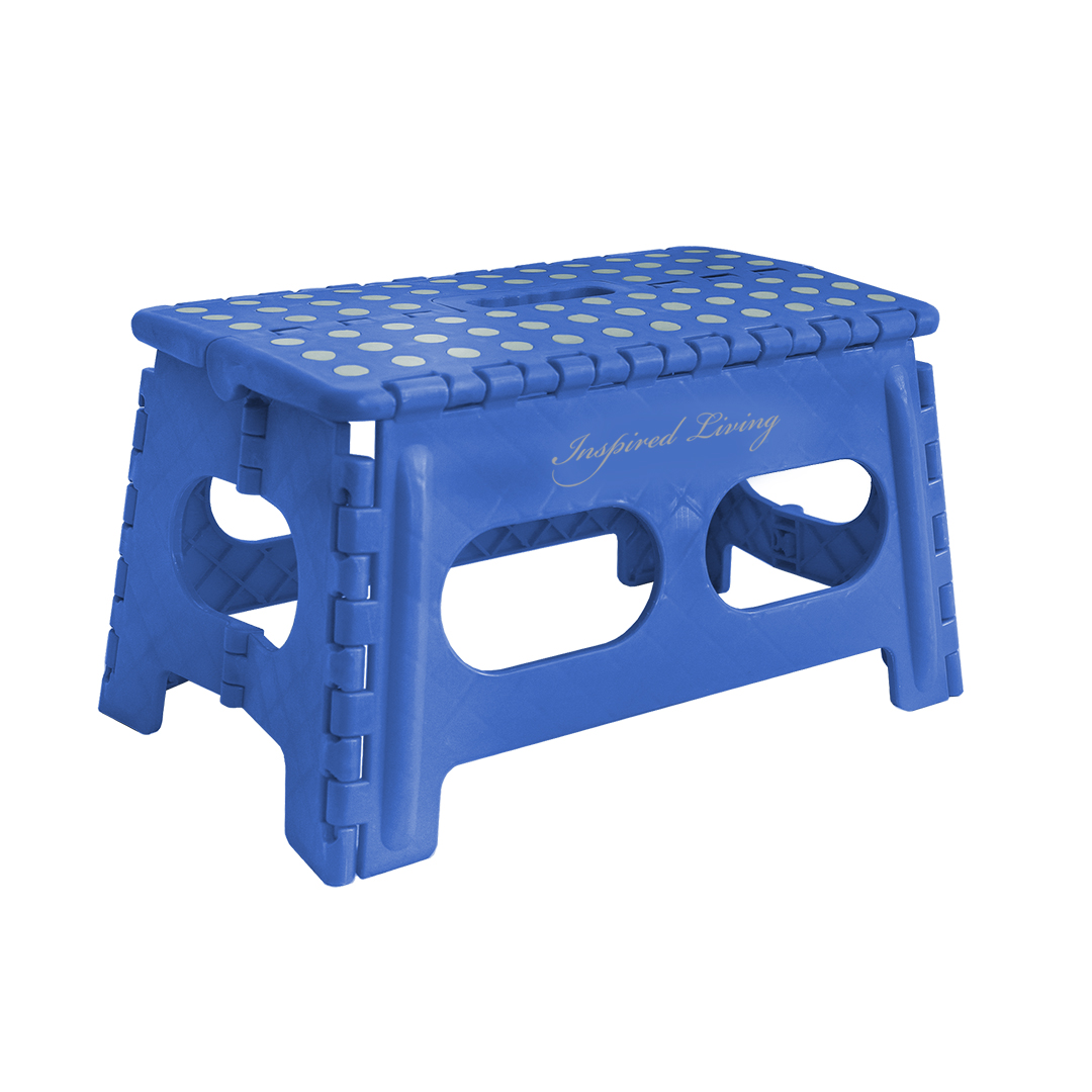 Inspired Living Folding Step Stool Heavy Duty 9 Quot High