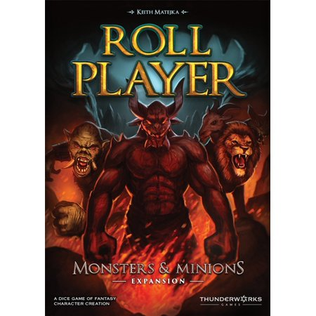 2002 Playoff Game - Roll Player: Monsters & Minions Expansion