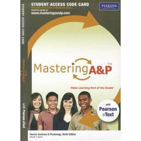 Human Anatomy & Physiology Mastering A&P Access Code - Walmart.com