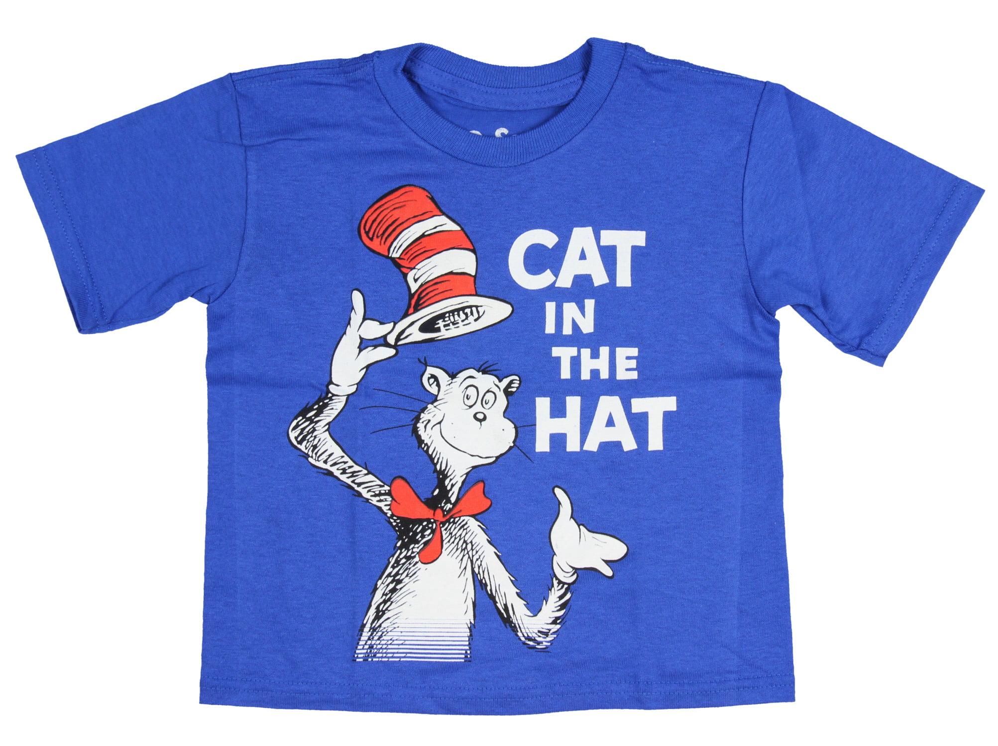 Dr Seuss Toddler 2T 3T 4T 5T Sweatshirt Shirt Cat in the Hat Boy or Girl