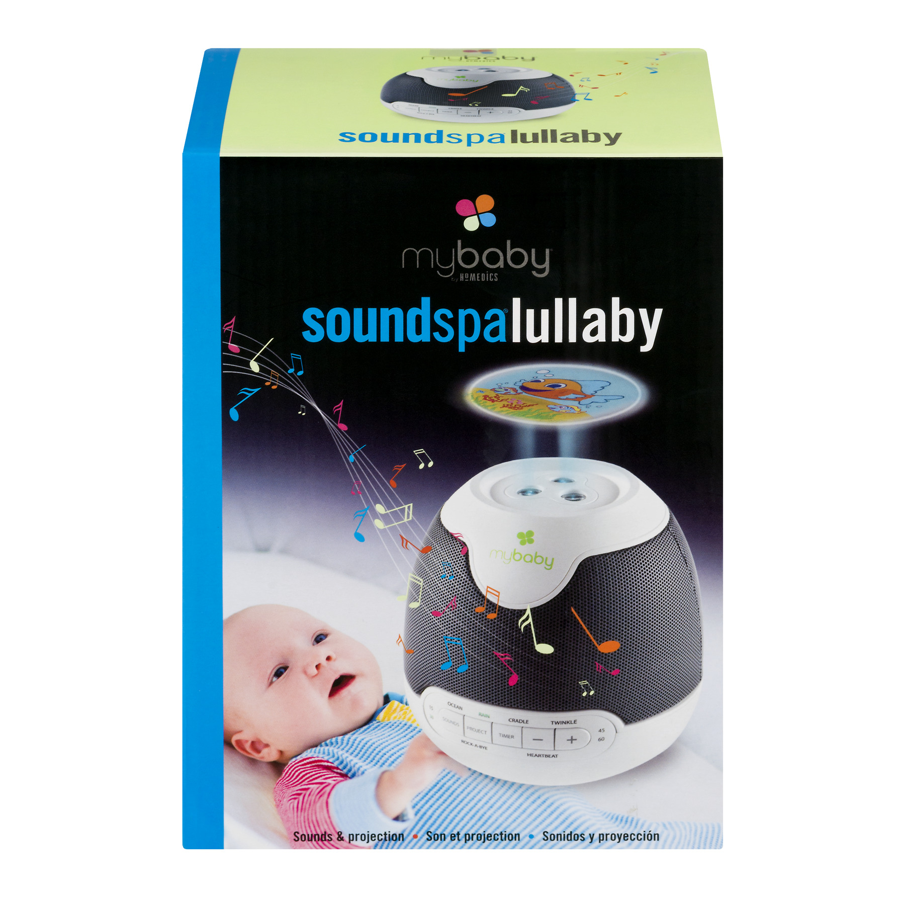 Homedics My Baby Sound Spa Lullaby, 1.0 CT